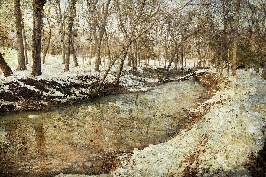 Fine Creek Winter Photograph by Guy Crittenden
