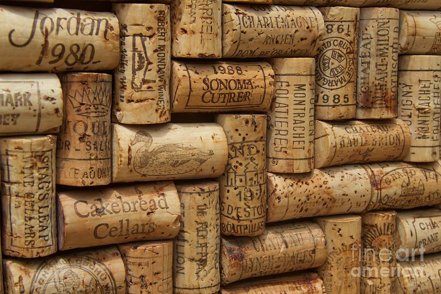 Wine Cork Photograph - Fine Wine by Anthony Jones