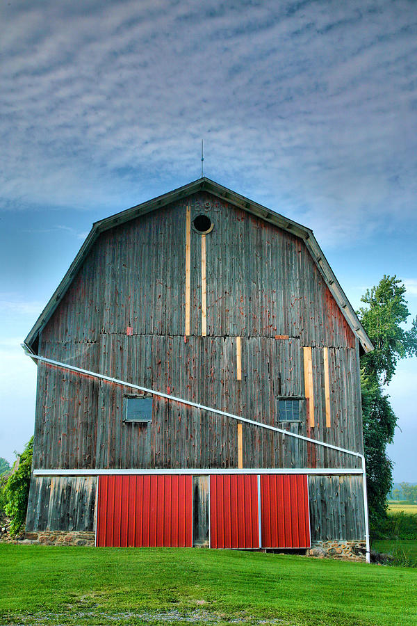 Architecture Photograph - Finger Lakes Barn Iv by Steven Ainsworth
