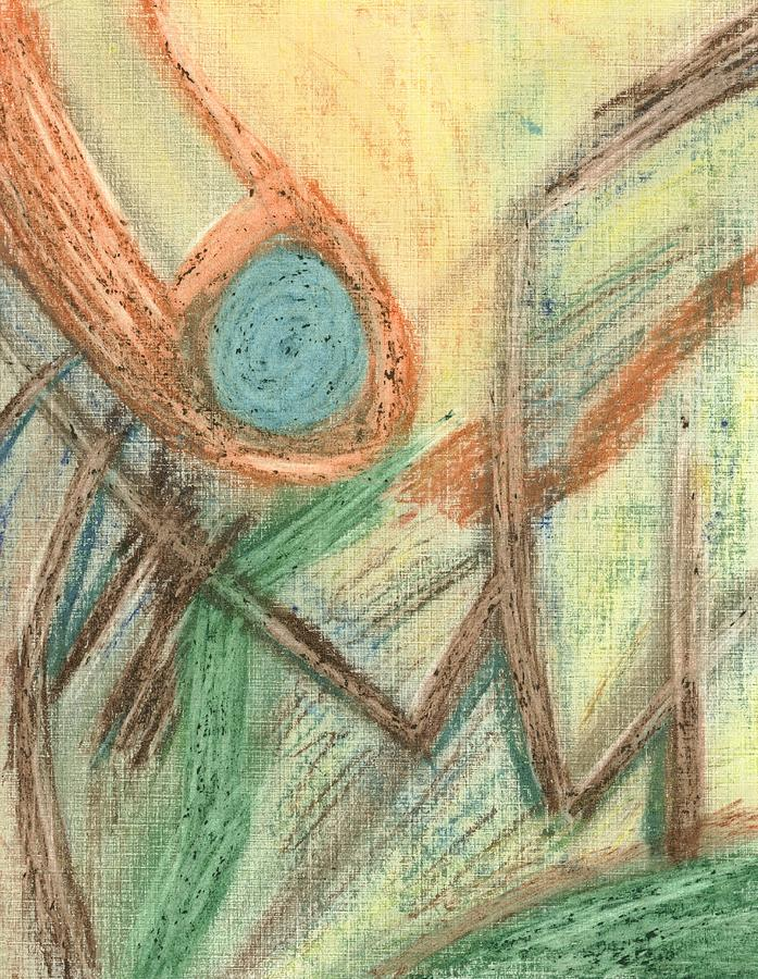 Finger Of God Drawing - Finger Of God by David Jacobi