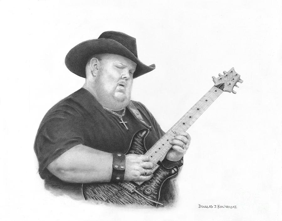 Fingers of Fire Drawing by Douglas Kochanski