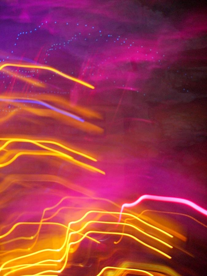 Abstract Photograph - Fingers of Light by Lessandra Grimley