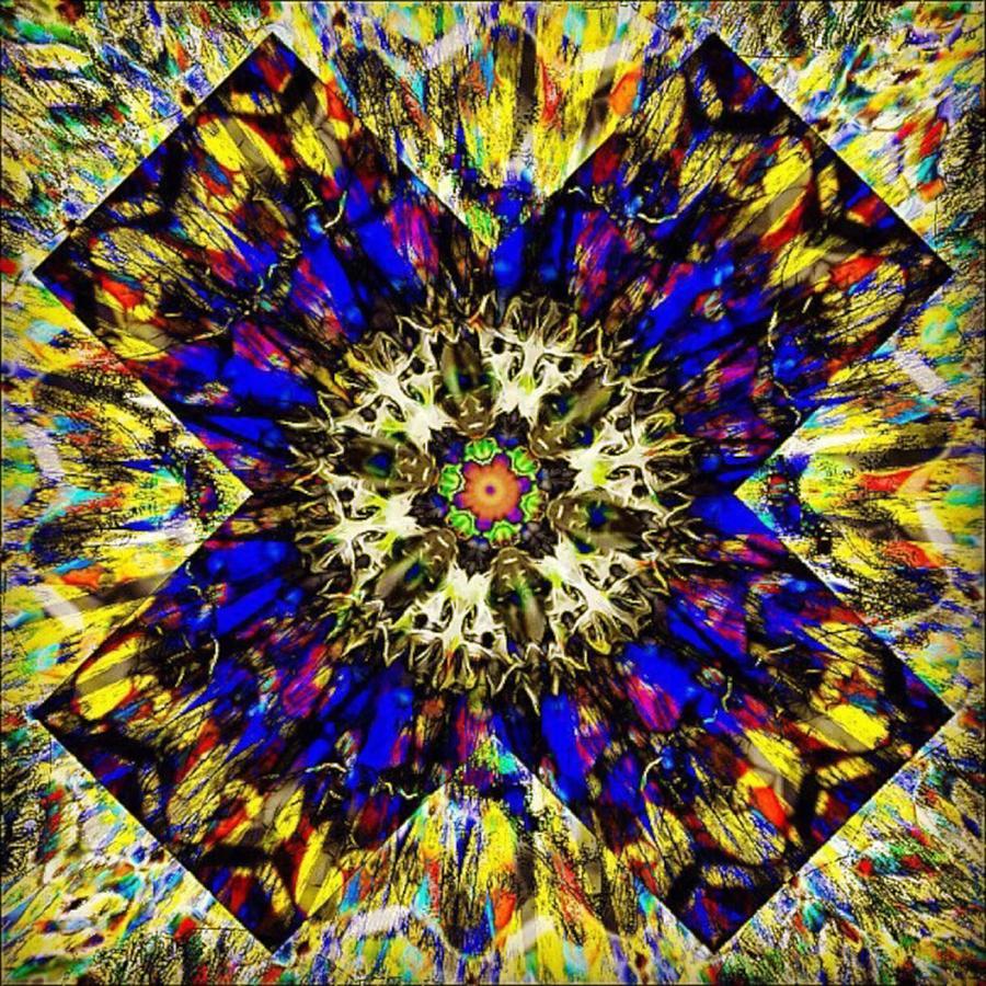 Fractal Digital Art - Finish Each Day by Nick Heap