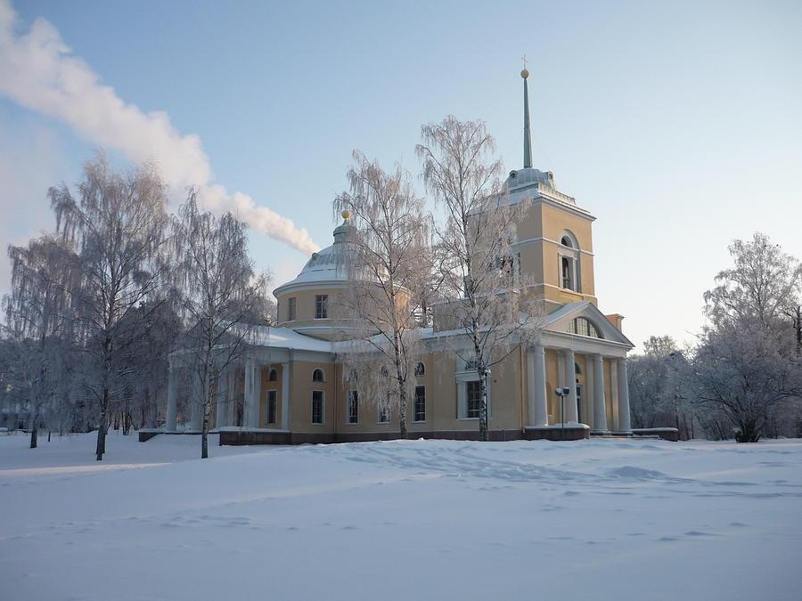Ak Photograph - Finland Church by AK Art