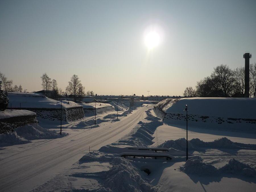 Finland Photograph - Finland Fortress by AK Art