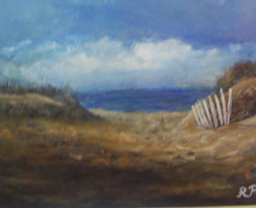 Montauk Beach Print - Finnell by Richard Finnell
