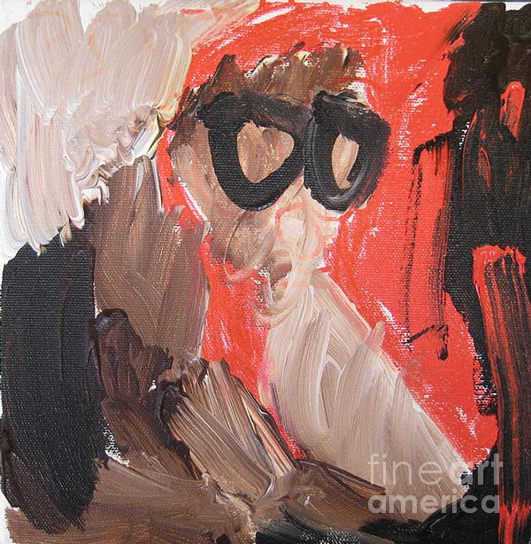 Portrait Painting - Fiona. 2008. by Sophia Pontet