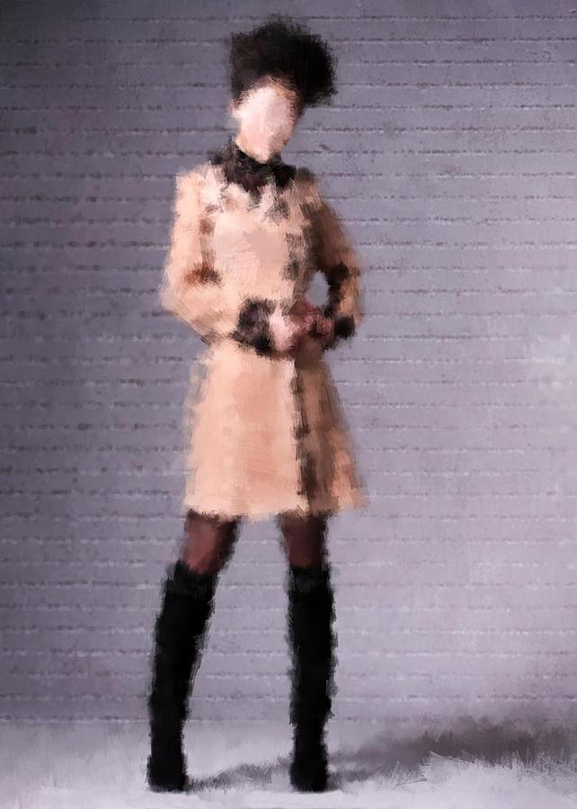 Fashion Digital Art - Fiona by Nancy Levan