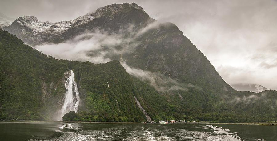 Fiordland National Park Photograph - Fiordland National Park by Racheal Christian
