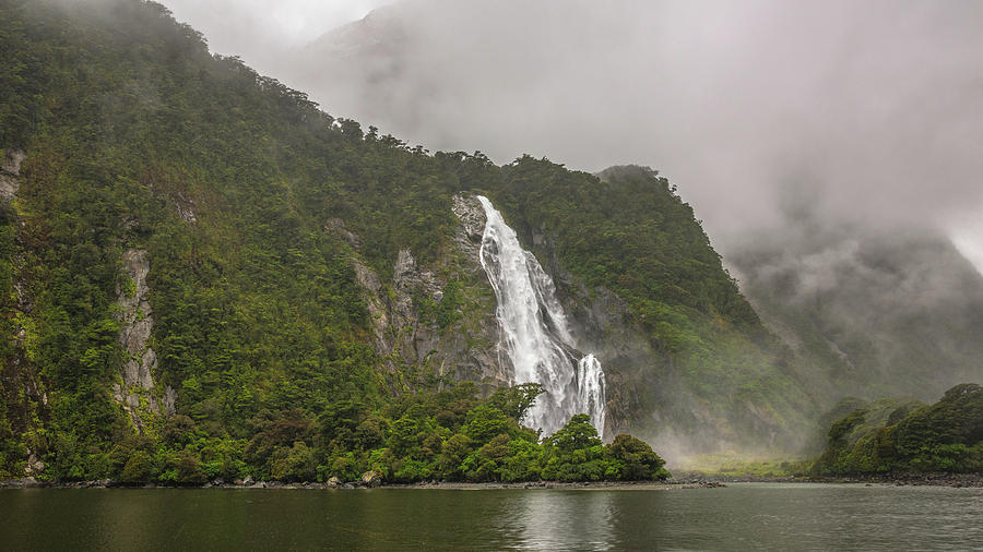 Fiordland Waterfall