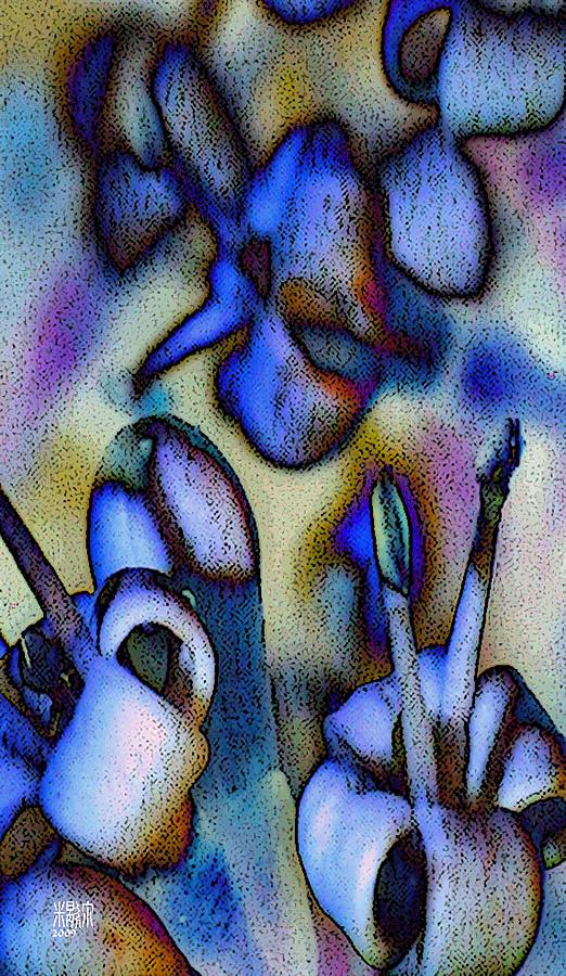 Flowers Digital Art - Fiori Molto Piccoli by Michele Caporaso
