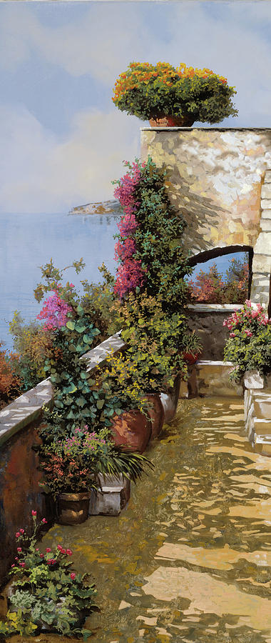 Flowers Painting - Fiori Ovunque by Guido Borelli