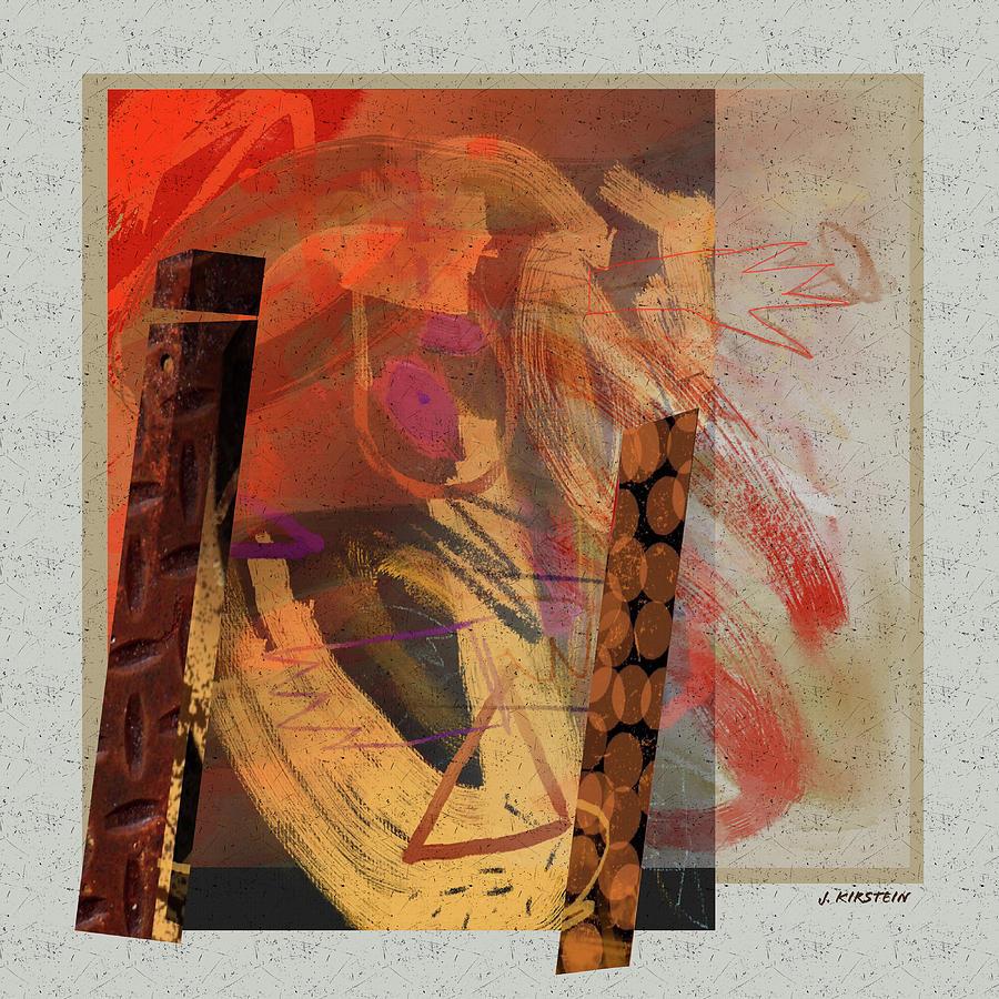 Fire Digital Art - Fire 2 by Janis Kirstein