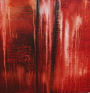 Abstract Painting - Fire by Alli Royce Soble