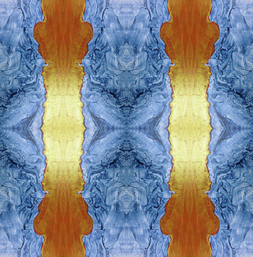 Otto Rapp Digital Art - Fire And Ice - Digital 1 by Otto Rapp