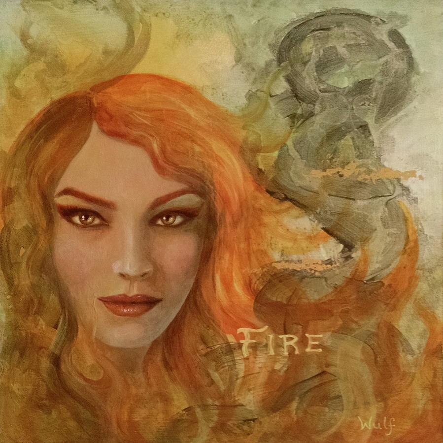 Fire by Bernadette Wulf