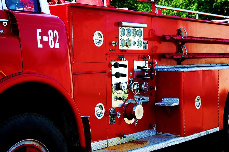 Red Photograph - Fire Engine Red by Beverly Hammond