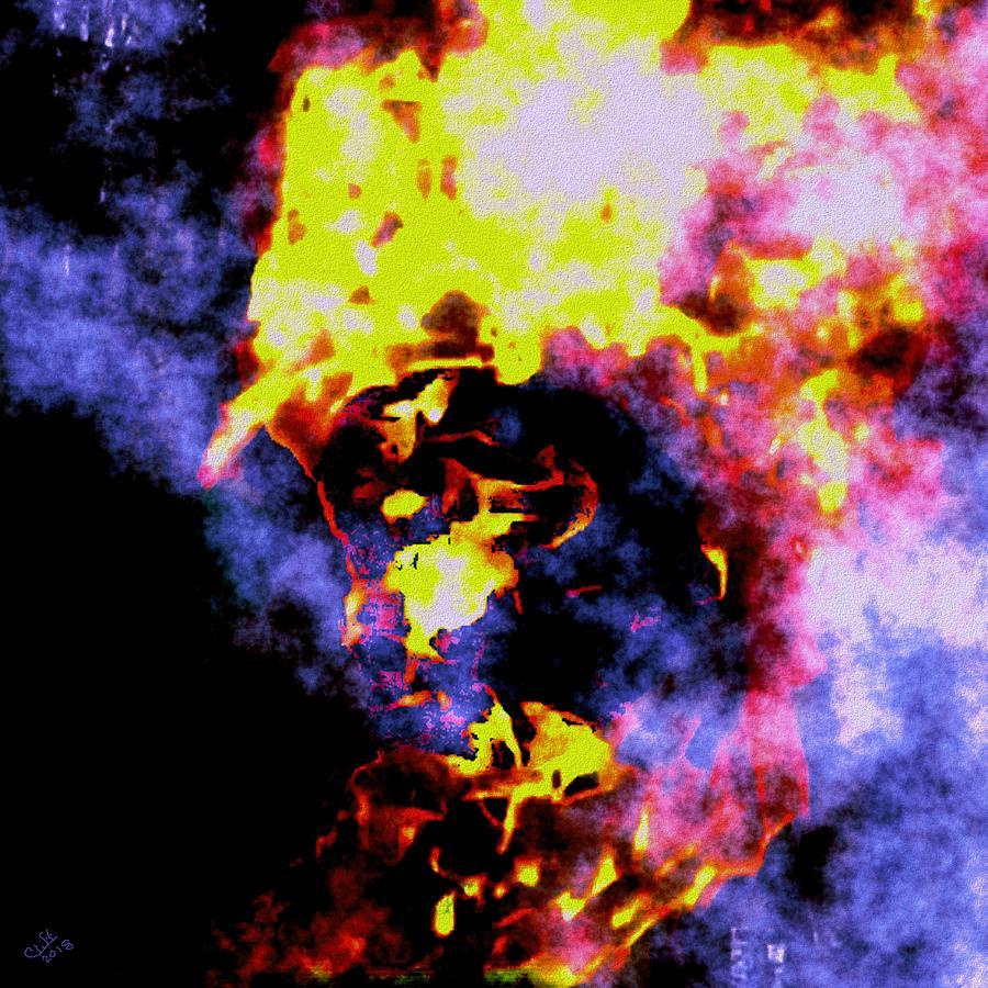 Fire Fighter Digital Art