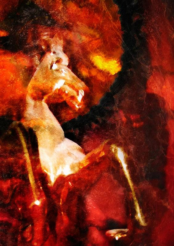 Fire Digital Art by Horizons Hef