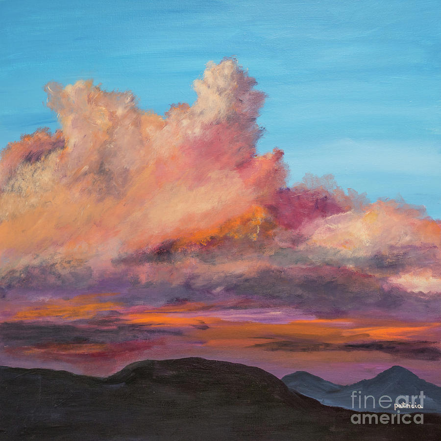Fire in the Evening Sky by Patricia Gould