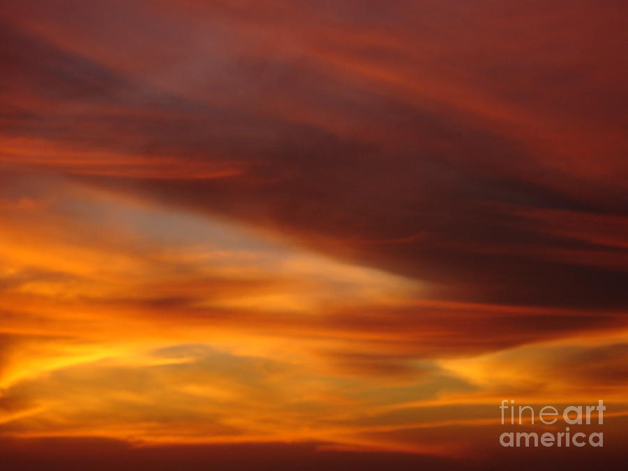 Sunset Photograph - Fire In The Sky 2 by Chad Natti