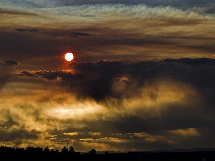 Fire In The Sky Photograph by Alana Thrower