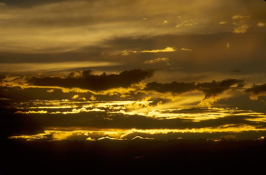 Clouds Photograph - Fire In The Sky by Lynard Stroud