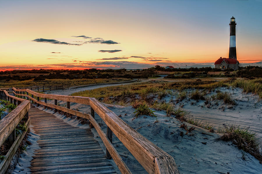 Fire Island Lighthouse At Robert Moses State Park Photograph By