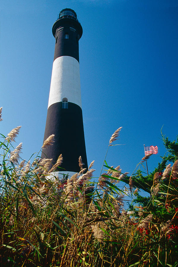 Architecture Photograph - Fire Island Lighthouse by George Oze