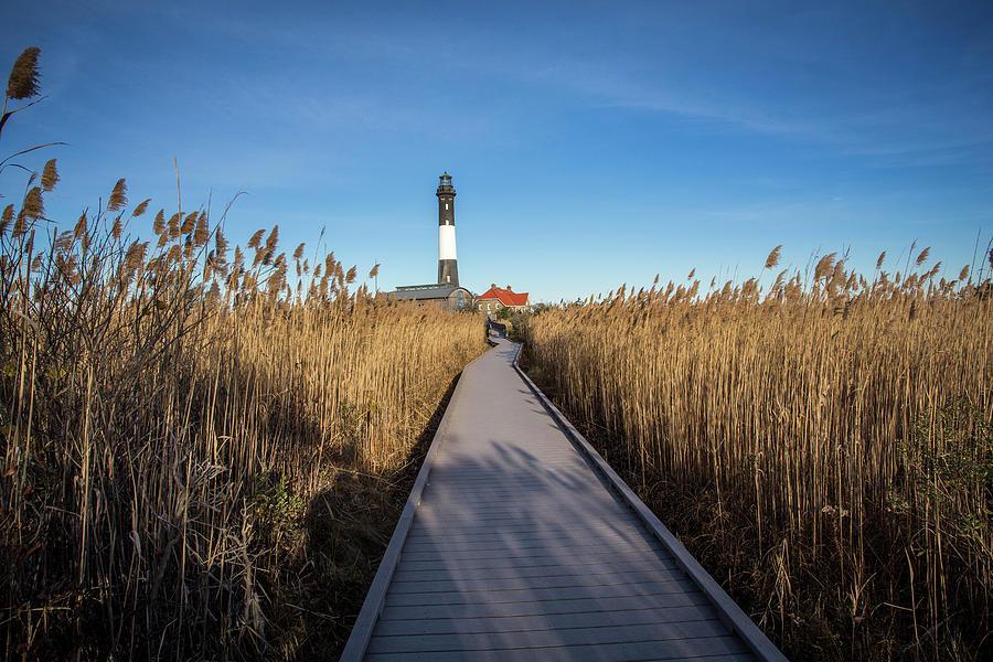 Fire Island Lighthouse Photograph - Fire Island Lighthouse by Roderick Breem