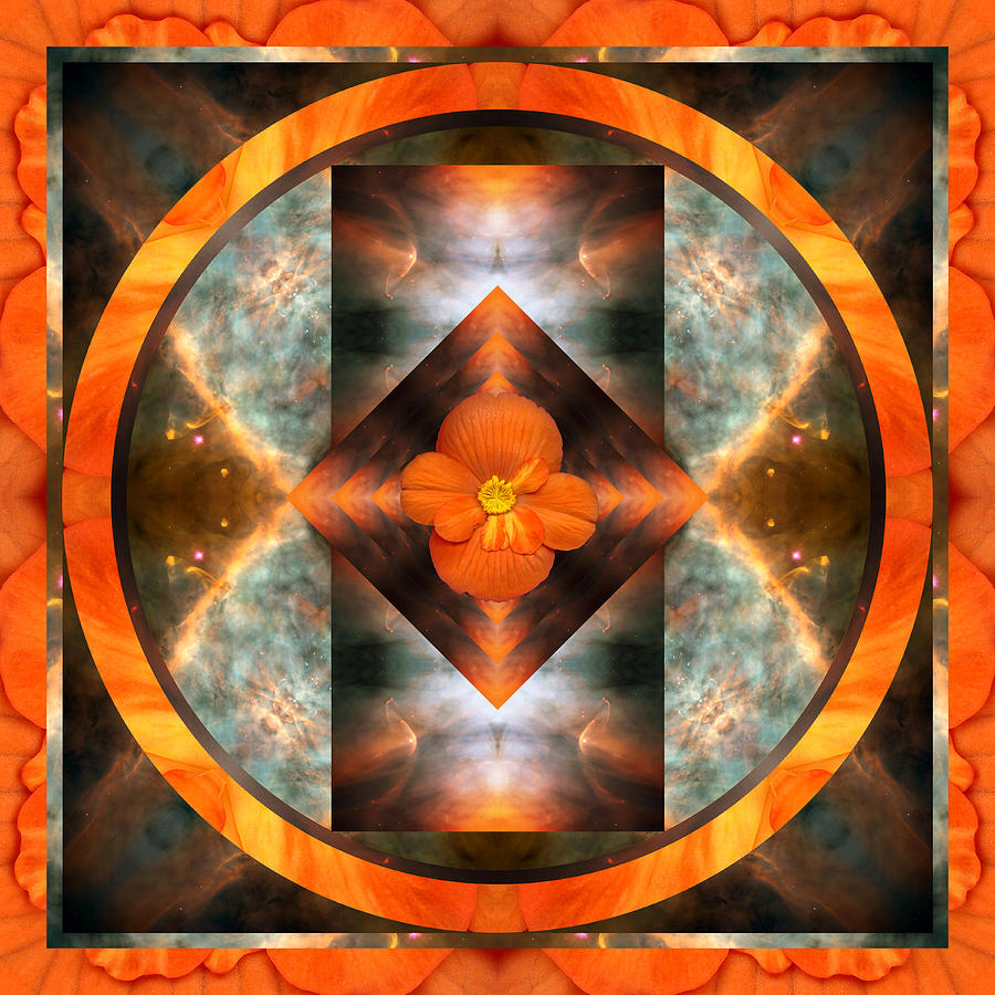 Chakras Photograph - Fire Light by Bell And Todd