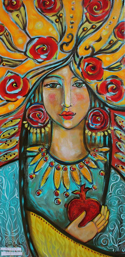 Visionary Women Painting - Fire Of The Spirit by Shiloh Sophia McCloud