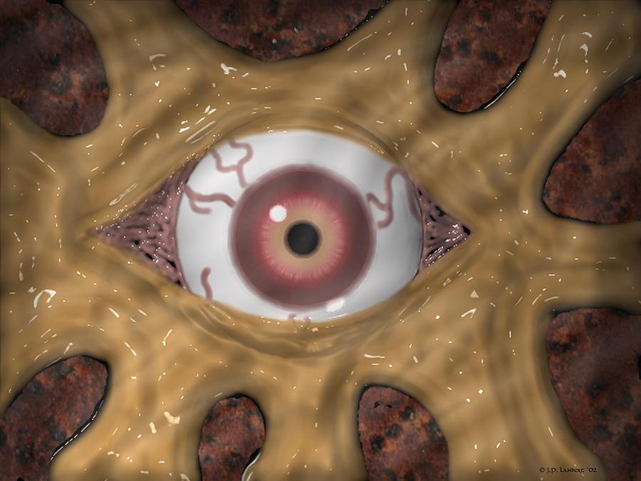Eye Digital Art - Fire Roasted by J P Lambert