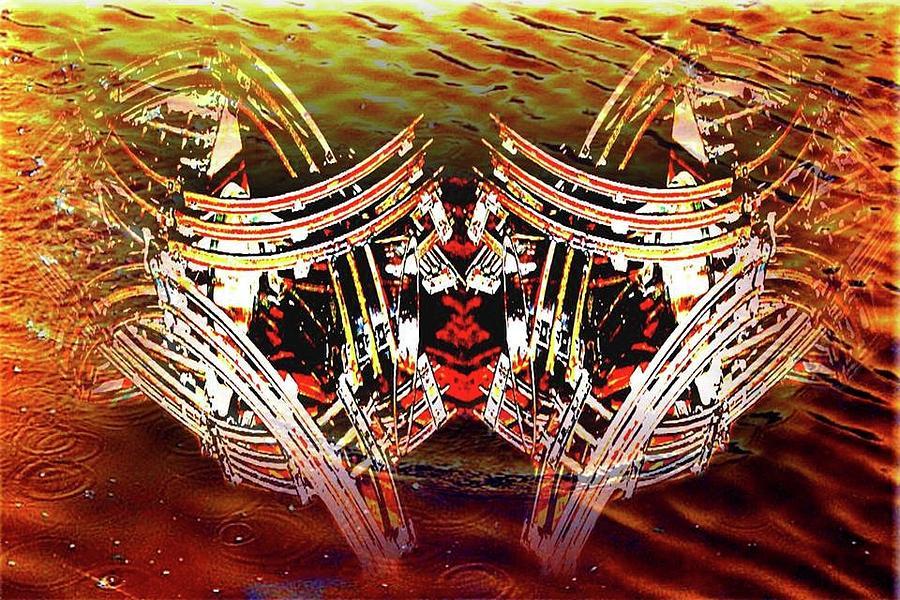 Fire Digital Art by Scott Smith
