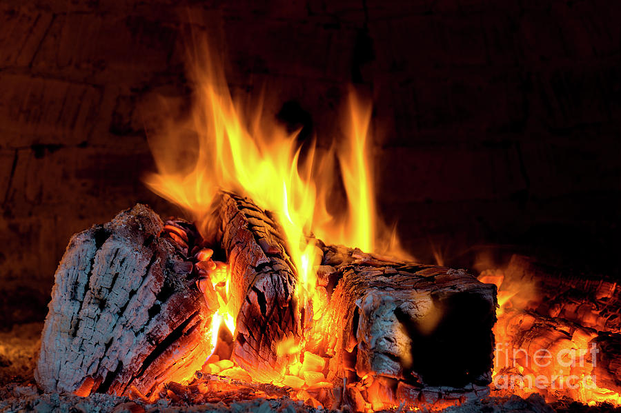 Background Photograph - Fire by PhotoGranary
