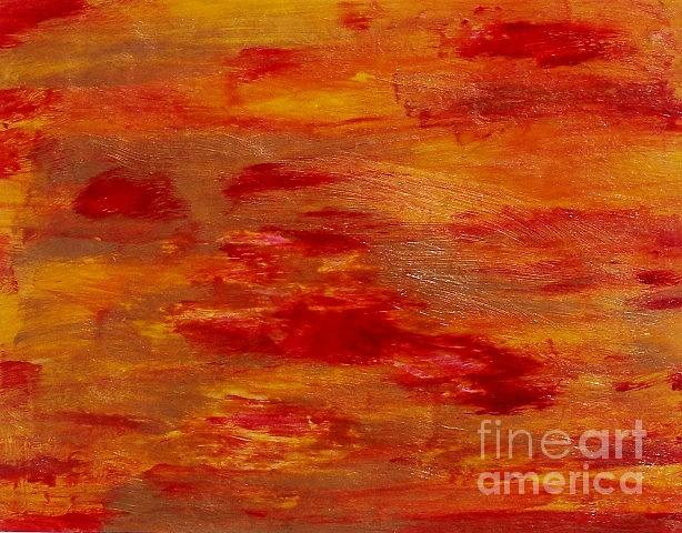 Abstract Painting - Fire Storm by Joseph Callahan