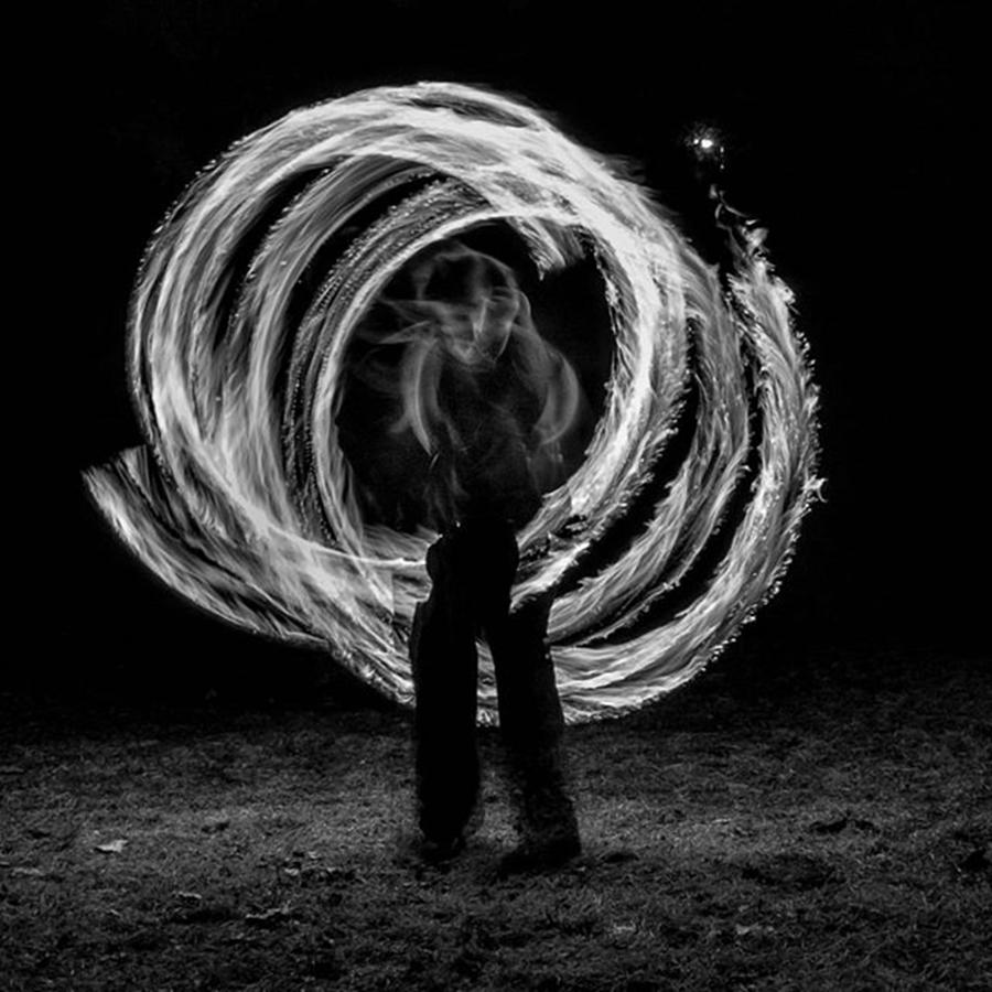 People Photograph - Fire Walk With Me. Someday I Will Run by Brian Carson