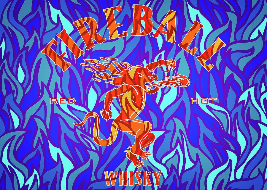 Fireball 2 Digital Art