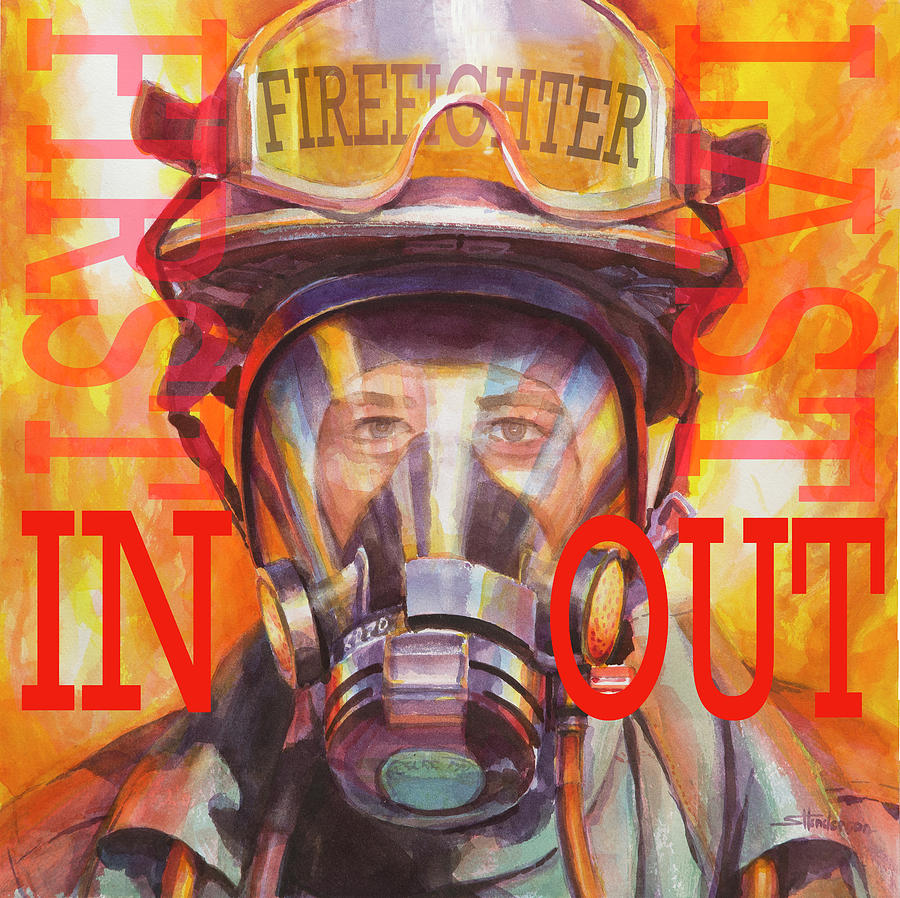 Firefighter by Steve Henderson