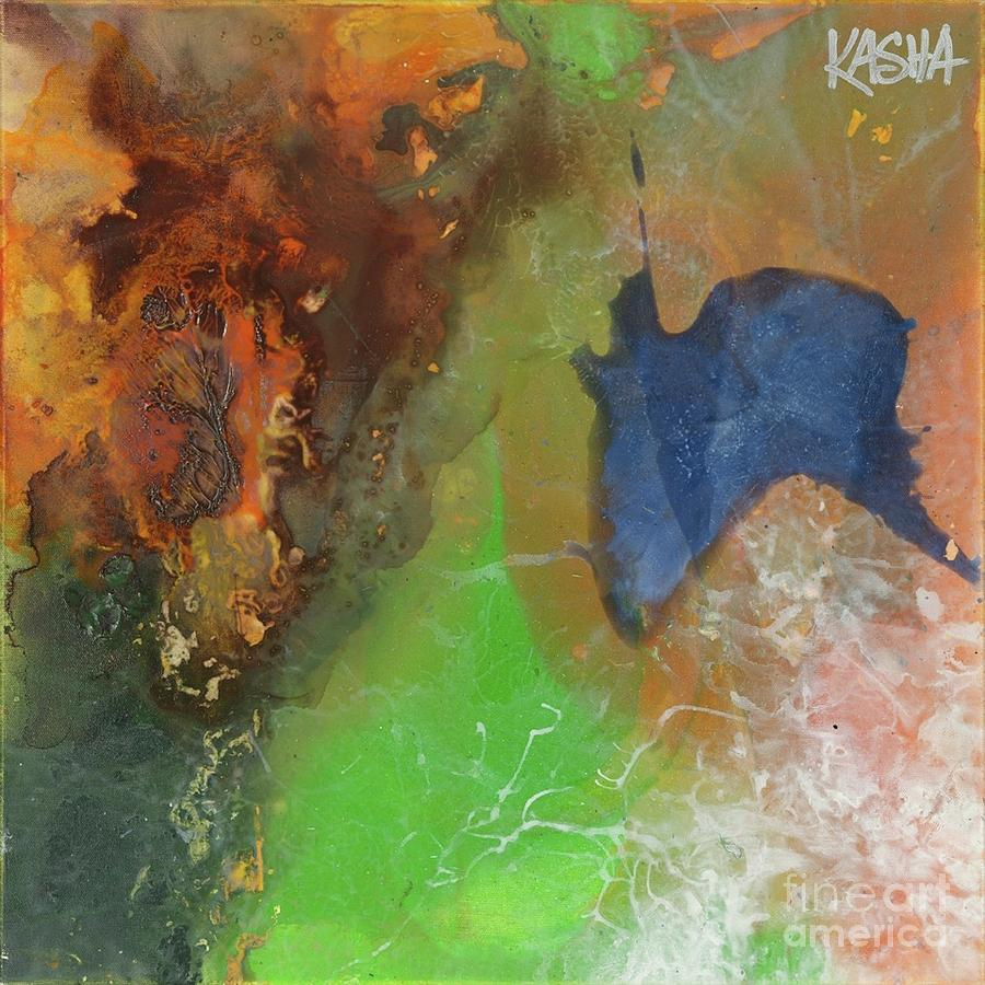 Abstract Painting Painting - Firefly  by Kasha Ritter