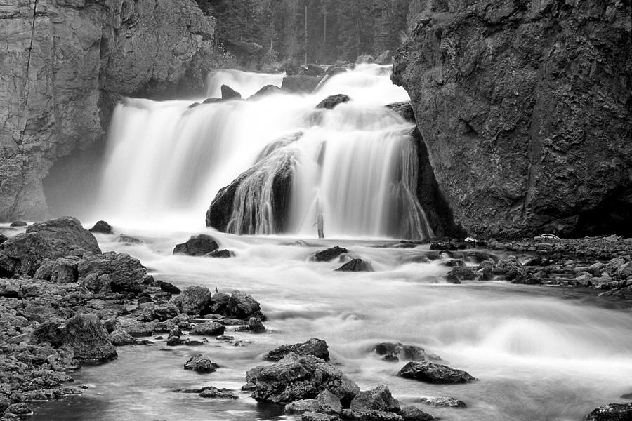 Wyoming Photograph - Firehole Falls by Eric Foltz