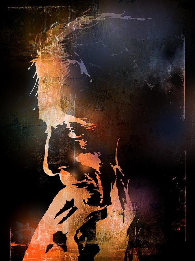 Native American Painting - Firelight by Paul Sachtleben