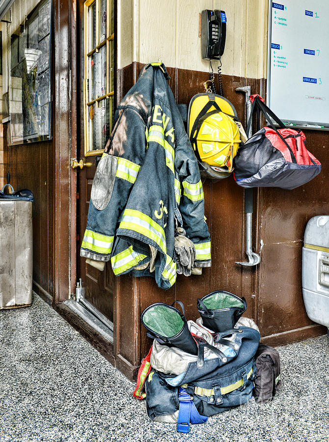 Fireman Photograph - Fireman - Always Ready by Paul Ward