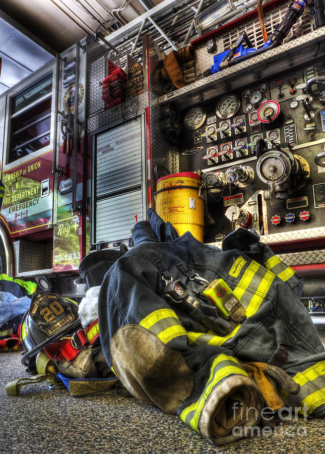 Bravest Photograph - Fireman - Always Ready For Duty by Lee Dos Santos