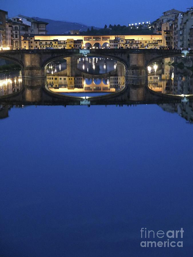 Blue Photograph - Firenze Blue IIi by Kelly Borsheim