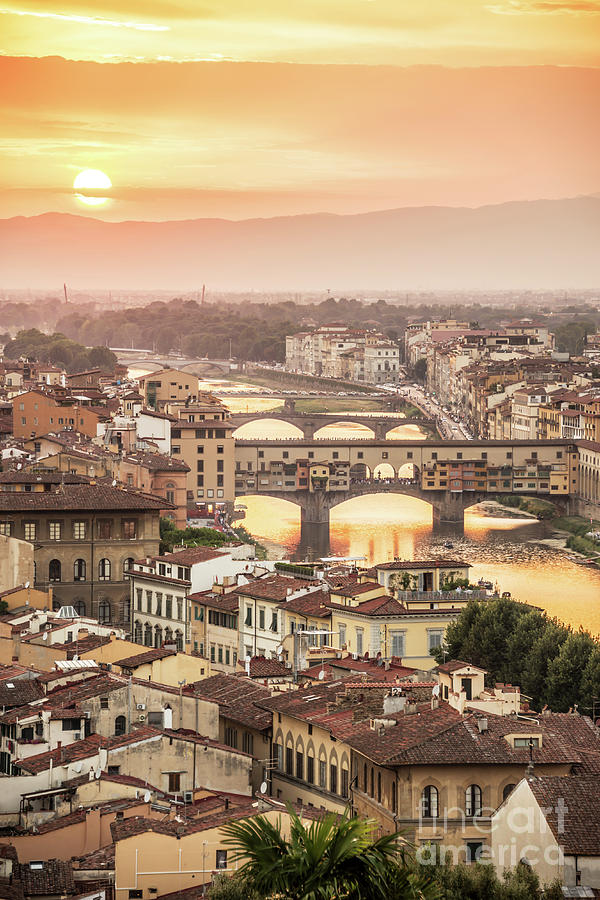 Florence Photograph - Firenze by Delphimages Photo Creations