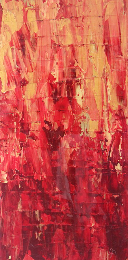Red Painting - Firenze by Tracy Fetter