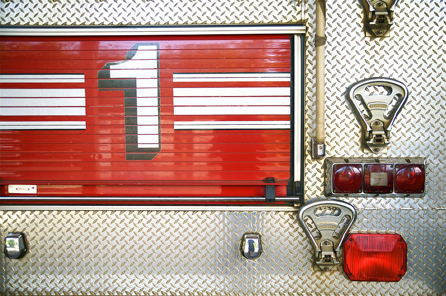 Career Photograph - Firetruck Detail I by Kicka Witte - Printscapes