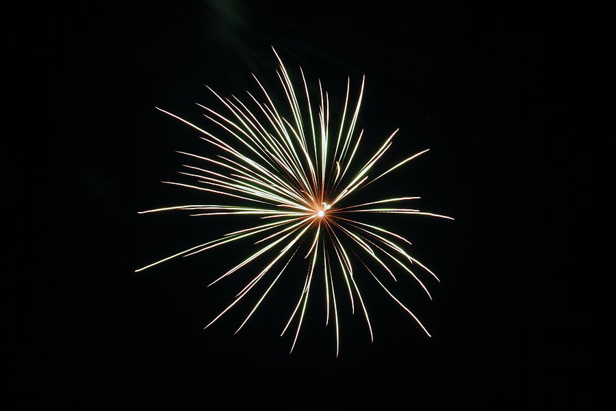 Fireworks Photograph - Fireworks 002 by Larry Ward