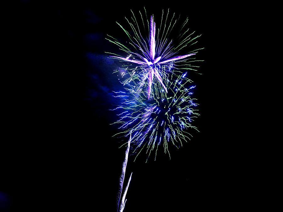 Fireworks Photograph - Fireworks 19 by Kendall Eutemey